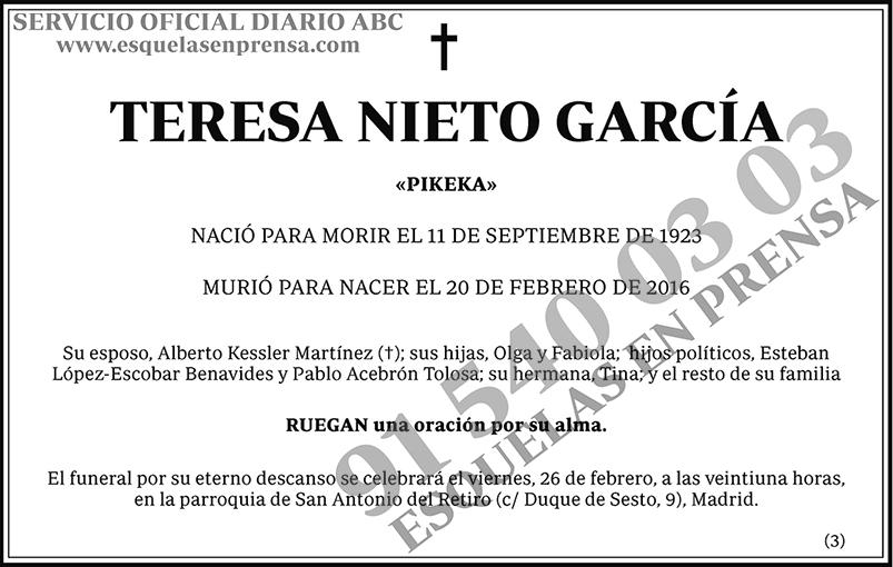 Teresa Nieto García